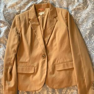 Merona Camel Colored Blazer- Size 10